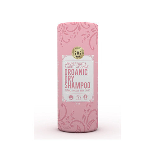 Green & Gorgeous Organics Natural Dry Shampoo Powder for All and Oily Hair Types - Grapefruit and Sweet Orange 4 oz