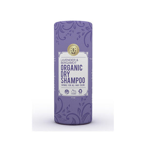 Green & Gorgeous Organics Natural Dry Shampoo Powder for All and Oily Hair Types - Lavender and Bergamot 4 oz - KeepYoungForever