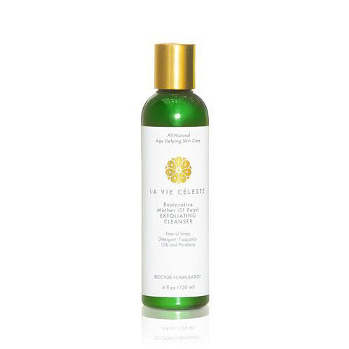 La Vie Celeste Restorative Mother Of Pearl Exfoliating Cleanser