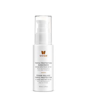 Vivierskin Triple Protection Sunscreen Broad Spectrum SPF 30 - KeepYoungForever