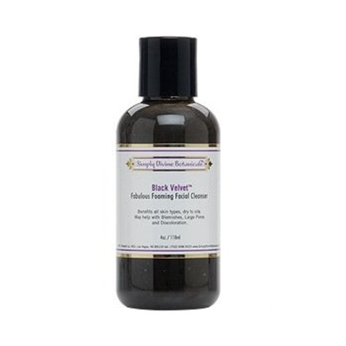 Simply Divine Botanicals Black Velvet Foaming Facial Cleanser