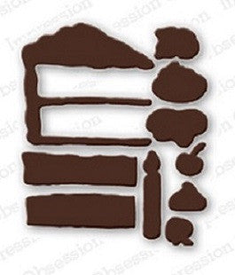 Impression Obsession Steel Die Cuts Cake Set - 1