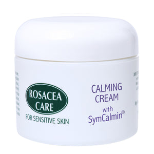 Rosacea Care CALMING CREAM WITH SYMCALMIN - Nourishing, anti-aging, effective for rosacea (2 Oz) - KeepYoungForever