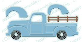 Impression Obsession Classic Truck Die (DIE218-I)