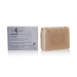 Blissoma Clean - Mature Moisture Facial Cleansing Bar, Rooibos/Rose/Pomegranate - KeepYoungForever