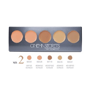 Cinema Secrets Ultimate Corrector 5-In-1 Pro Palette (New Version) - 3