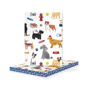 Fringe Studio Paperback Journal - Dog Breeds - KeepYoungForever