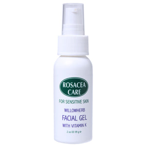 Rosacea Care Facial Gel Deep Hydration, effective for rosacea, reducing redness, moisturizing, healing, non-oily (2 Oz)
