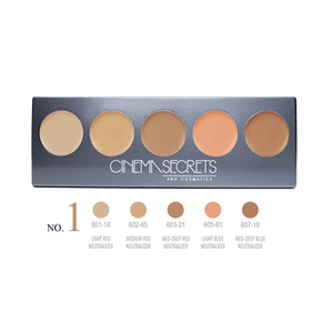 Cinema Secrets Ultimate Corrector 5-In-1 Pro Palette (New Version) - 2