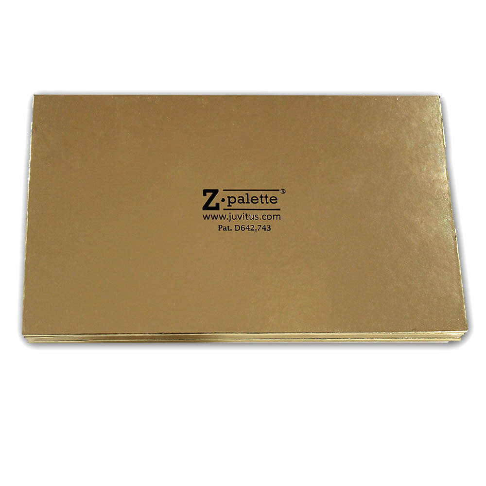 Z Palette Large Makeup Palette, JUVITUS Collection - Gold - 5