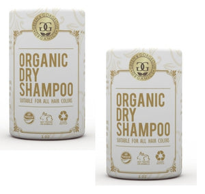 Green & Gorgeous Organics Dry Shampoo - Unscented 2 Pack, 1 oz each - KeepYoungForever