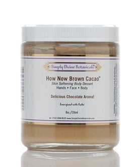 Simply Divine Botanicals How Now Brown Cacao Hand and Body Butter