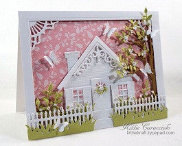 Impression Obsession Square House Die - KeepYoungForever