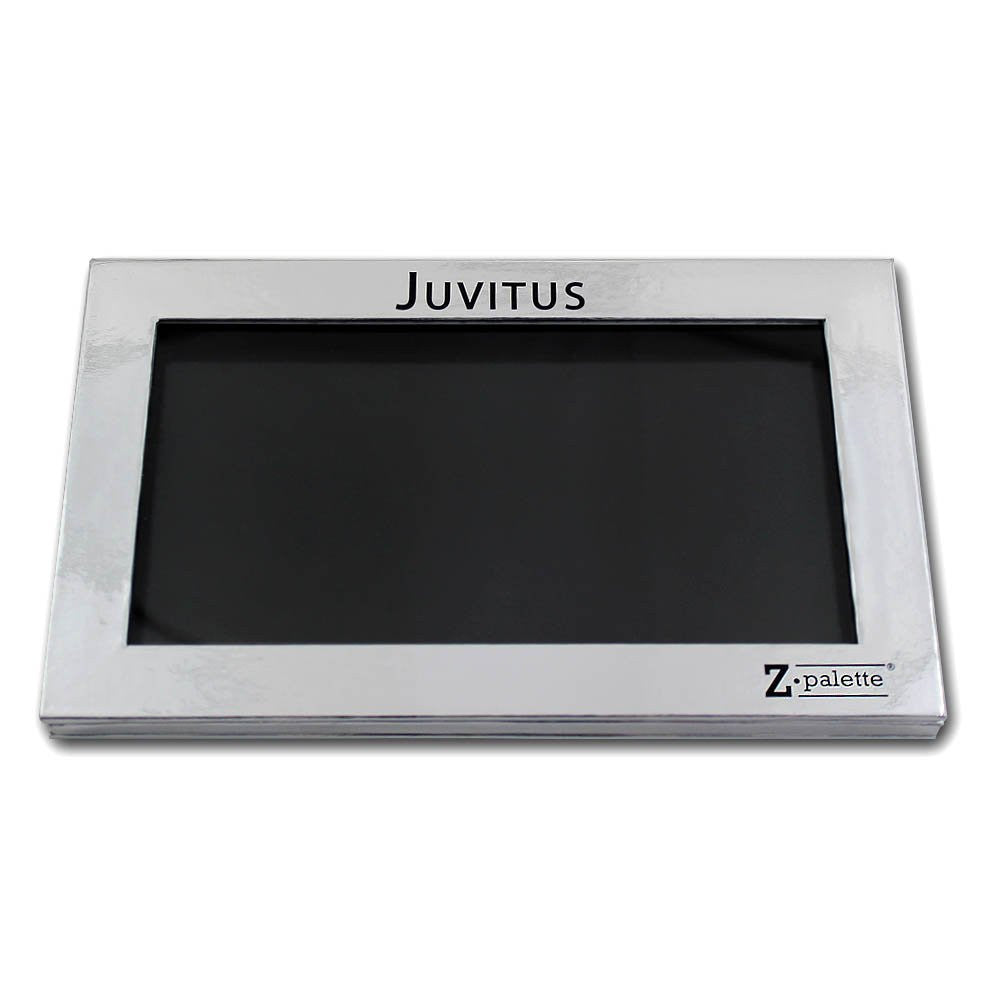 Z Palette Large Makeup Palette, JUVITUS Collection - Silver - 2