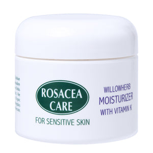 Rosacea Care Moisturizer - Nourishing, healing rich rosacea cream (2 Oz)