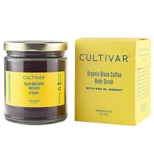 Cultivar Organic Black Coffee Body Scrub with Ras el Hanout - KeepYoungForever