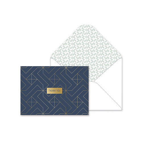 Fringe Studio Boxed Thank You Notes - Pinwheel