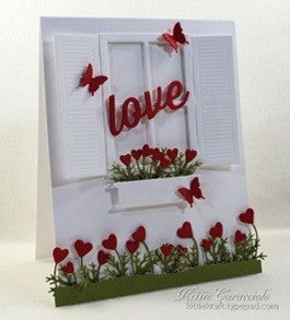 Impression Obsession Steel Die Cuts Large Window With Box - 8