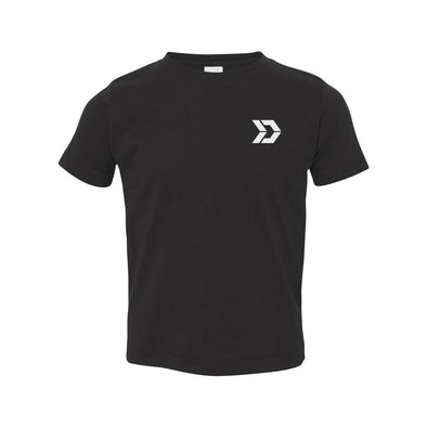 Toddler Brand Black T-Shirt