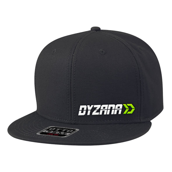 Snapback Hat - Offset Lime