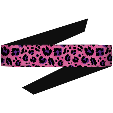Cheetah Pink Headband