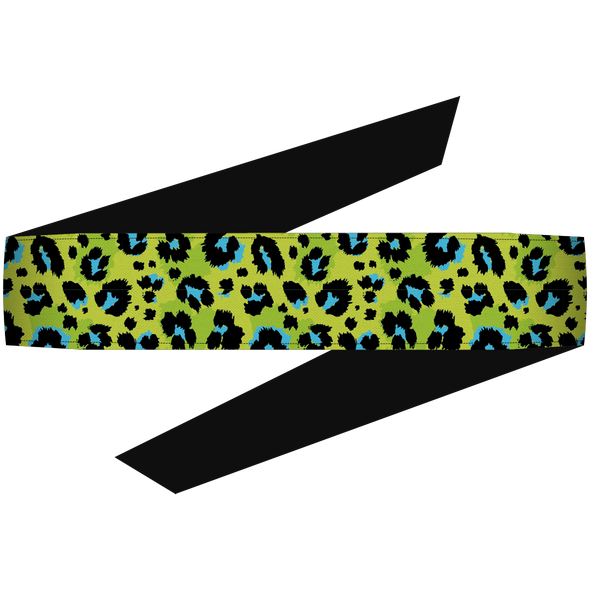 Cheetah Lime Headband