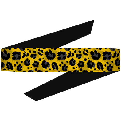 Cheetah Yellow Headband