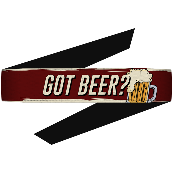 Got Beer? Headband