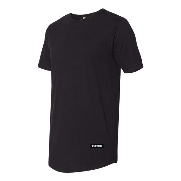 Long Body Black T-Shirt