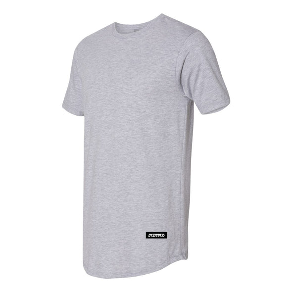 Long Body Grey T-Shirt