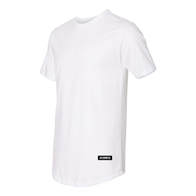 Long Body White T-Shirt