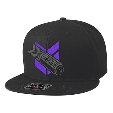 Snapback Hat - Missile Purple