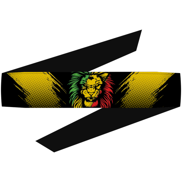 Rasta Lion Headband