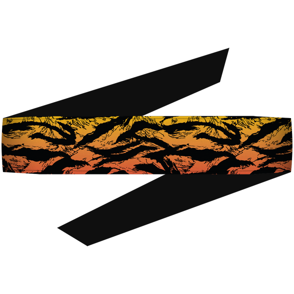 Tiger Fire Headband