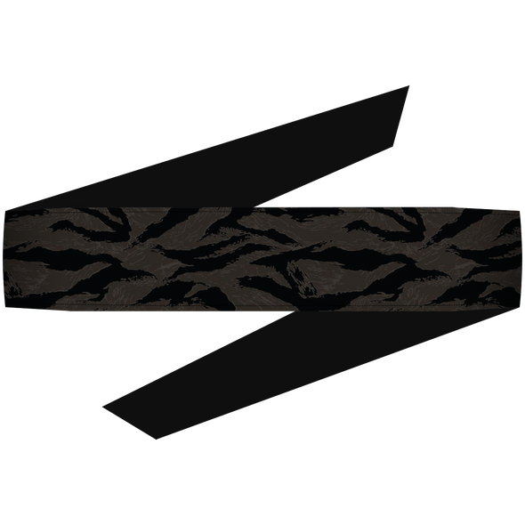 Tigerstripe Black Headband