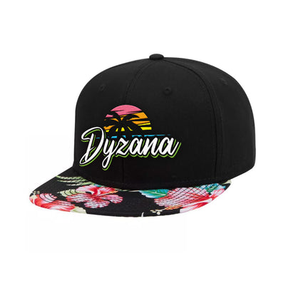 Snapback Hat - Tropical Bloom