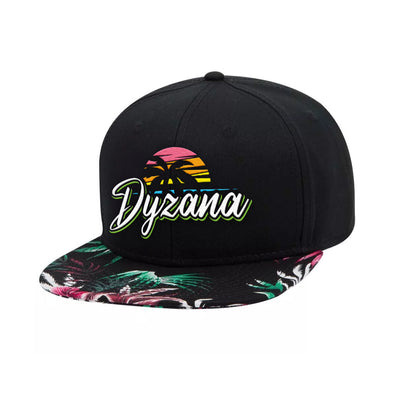 Snapback Hat - Tropical