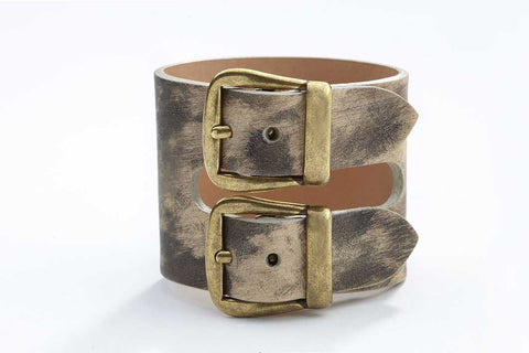 Rhône Bracelet - Leather - Washed Tan