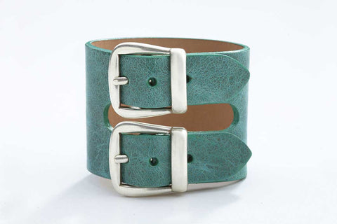 Rhône Bracelet - Leather - Atlantis