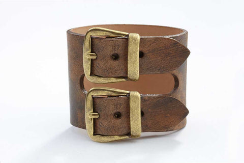 Rhône Bracelet - Leather - Washed Copper