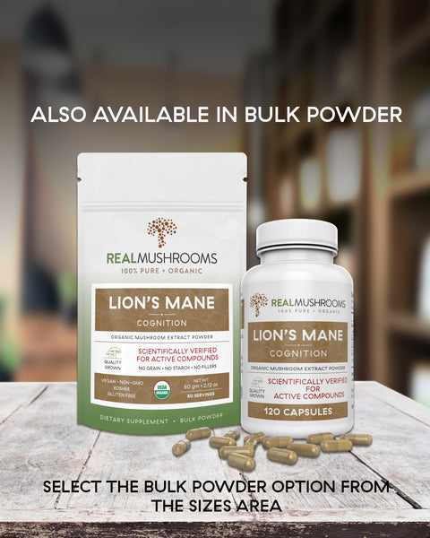 Lions Mane Extract - 120 Capsules