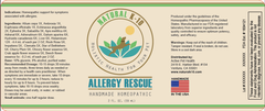 Natural K-10 Allergy Rescue