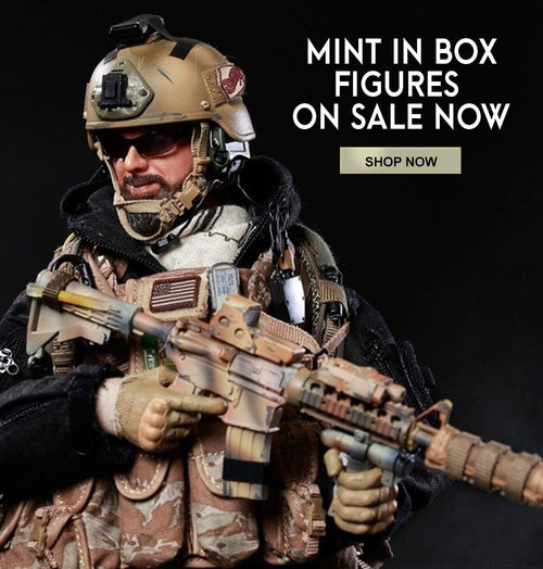 Scale Military Action Figures from BlackOpsToys