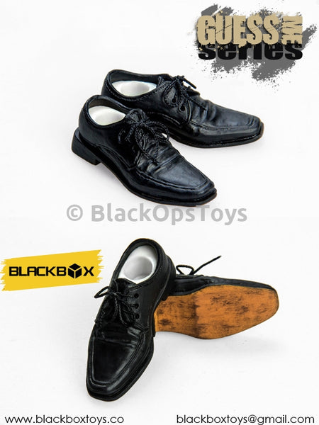 Hell Detective Constantine Black Socks and Peg Type Dress Shoes