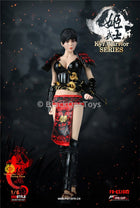 PREORDER Warring States of Japanese Women Warrior Suit Black MINT IN BOX