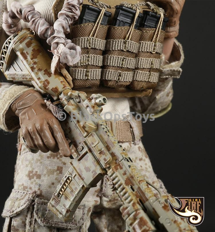 PREORDER Tactical Female Gunners Camouflage Suit in Desert AOR1
