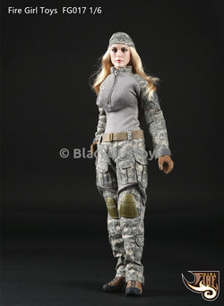 PREORDER Tactical Female Gunners Camouflage Suit in ACU