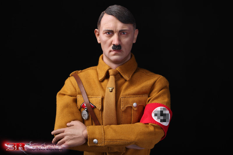 WWII - Adolf Hitler - Male Expression Head Sculpt