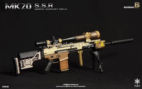 Easy & Simple 06004 B MK20 SCAR SSR Sniper Support Rifle In Bronze