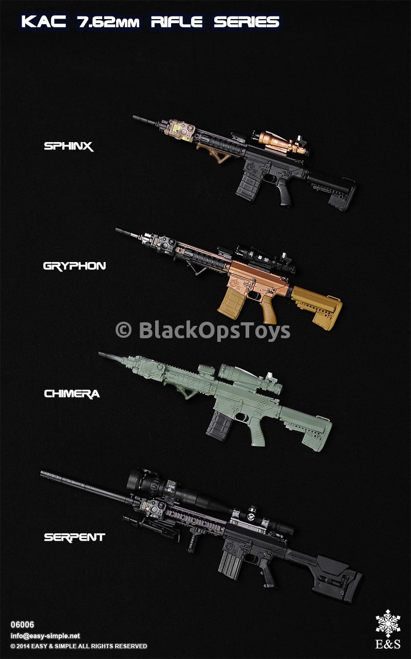 Easy & Simple 06006 Gryphon: M110 KAC Carbine Set B Mint In Box